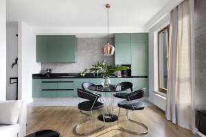 Kuchnia na pierwszym planie - zobacz minimalistyczny projekt wnętrza!