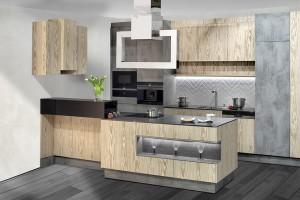 Pomysł na nowoczesną zabudowę kuchenną