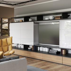 Systemy przesuwne sprawdzają się zarówno w przypadku małych, jak i dużych przestrzeni - w sypialniach, łazienkach, kuchniach czy biurach. Fot. GTV