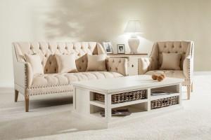 Jak umeblować salon w romantycznym stylu - zobacz inspiracje!