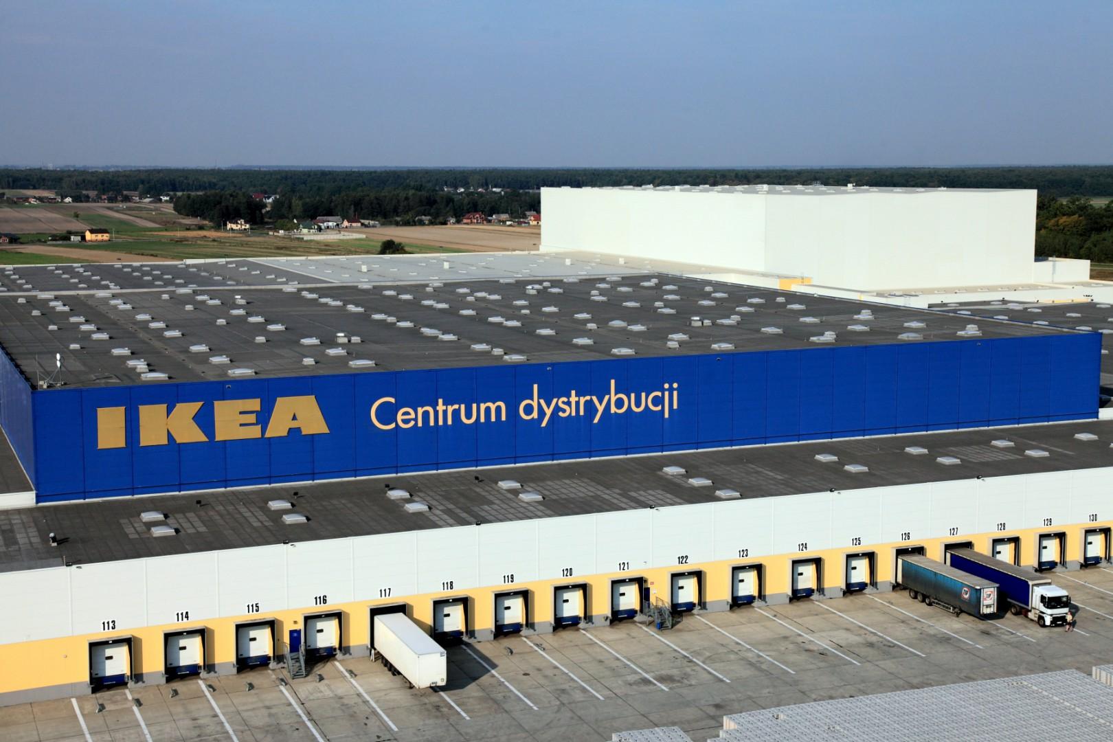Centrum Dystrybucji IKEA. Fot. IKEA
