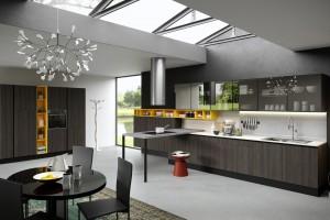 Zobacz 10 pięknych, klimatycznych kuchni w ciemnych kolorach!