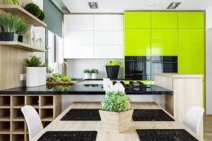 Kuchnia w kolorze – nie tylko dla odważnych