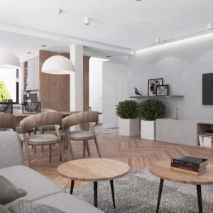 Projekt wnętrza Dominika Trzcińska, Superpozycja Architekci