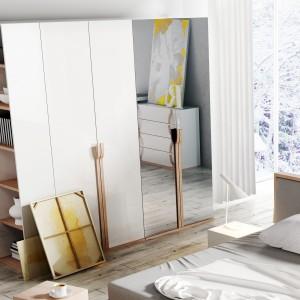 Szafa z kolekcji Snow. Fot. DigNet