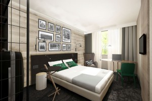 Jak umeblować hotelowe wnętrza? Zobacz projekt pracowni Tremend