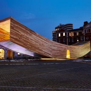 Za najlepszy projekt uznano The Smile – konstrukcję zaprezentowaną podczas Festiwalu Designu w Londynie w 2016 r. Fot. Fot. Dav Stewart