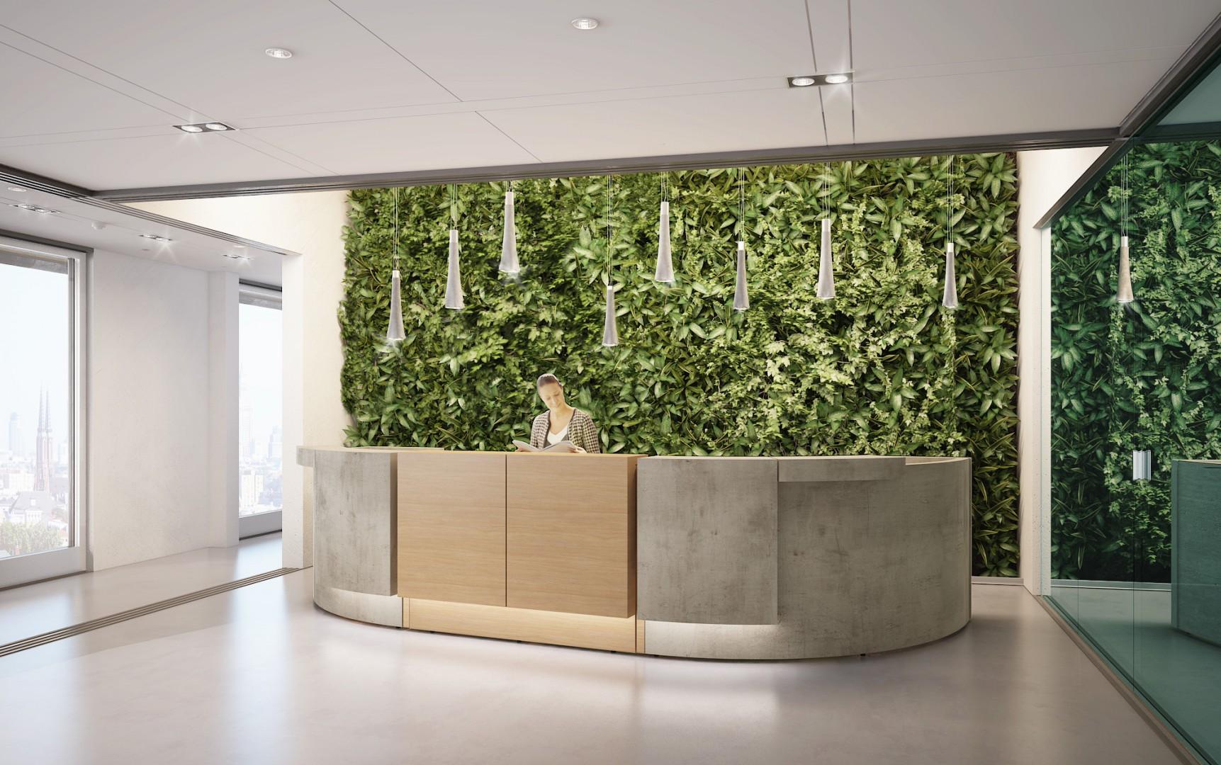 Współczesna recepcja ma być wielozadaniowa i w pełni oddawać charakter przedsiębiorstwa. Fot. Mikomax Smart Office