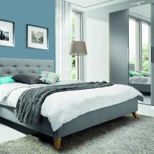 Łóżko tapicerowane Glame. Fot. Wajnert Meble