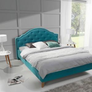Łóżko tapicerowane Flores. Fot. Wajnert Meble