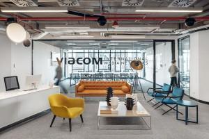 Zobacz meble z recyklingu wykorzystane w nowym biurze firmy Viacom