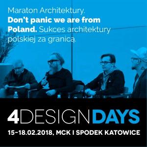Dni Otwarte 4 Design Days - 17-18 lutego 2018 r.