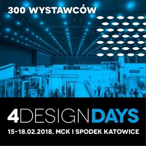 4 Design Days po raz kolejny przybierze sprawdzoną formułę dwóch dni dla przedstawicieli branży oraz dwóch dni otwartych dla każdego, kto zechce uczestniczyć w spotkaniu z żywą architekturą i designem.