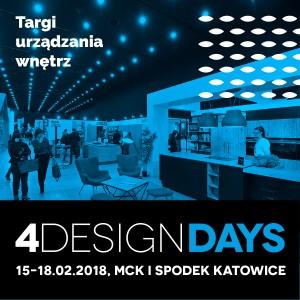 W poprzednich edycjach 4 Design Days (w 2016 i 2017 roku) wzięło udział w sumie ponad 10 tys. gości biznesowych, a blisko 40 tys. osób odwiedziło ekspozycje kilkuset wystawców: producentów mebli i wyposażenia wnętrz oraz targi designu niezależnego.