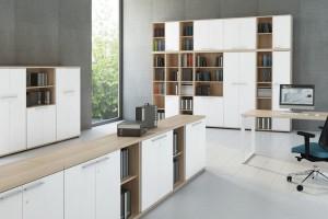 Meble do przechowywania w biurze - jakie rozwiązanie wybrać?