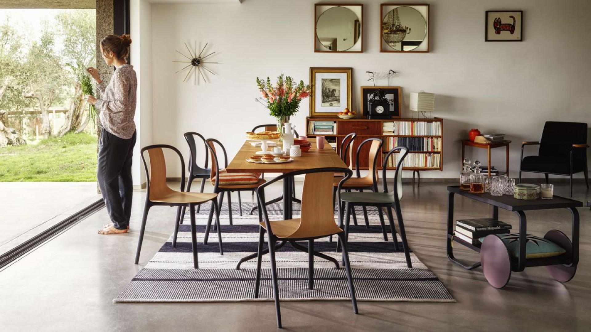 Kolekcja krzeseł Belleville firmy Vitra. Projekt: Ronan i Erwan Bouroullec. Fot. Vitra