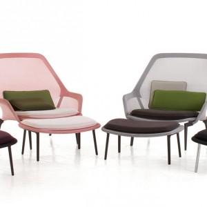 Krzesła i otomany z serii