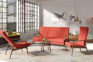 Sofy i fotele inspirowane latami 60. - wybierz styl retro
