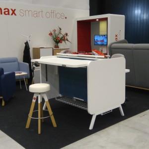 Stoisko firmy Mikomax Smart Office na 4 Design Days. Fot. Mikomax Smart Office