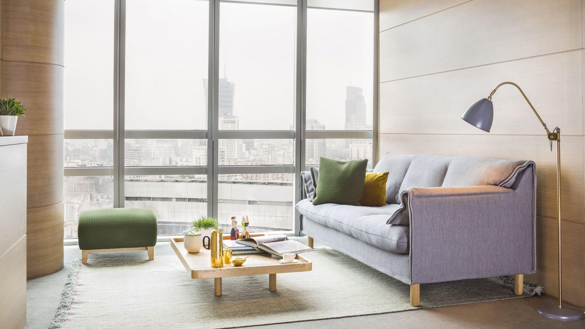 Sofa Boo firmy Comforty. Projekt: Maja Ganszyniec, Krystian Kowalski. Fot. Comforty/Ernest Winczyk