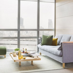Sofa Boo firmy Comforty. Projekt: Maja Ganszyniec, Krystian Kowalski. Fot. Comforty/Ernest Wińczyk