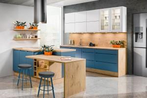 Meble kuchenne - postaw na kolory we wnętrzu