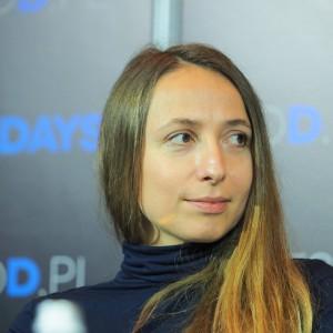 Maja Ganszyniec, projektantka, Studio Ganszyniec (Forum Branży Meblowej).  Fot. Grupa PTWP