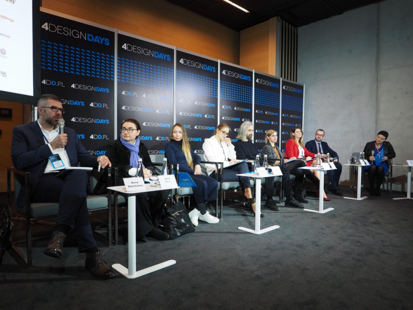 """Forum Branży Meblowej 2018, dyskusja """"Zaprojektuj mi to pięknie"""" w ramach 4 Design Days"""