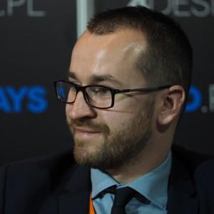 Paweł Pradella reprezentujący markę Fargotex