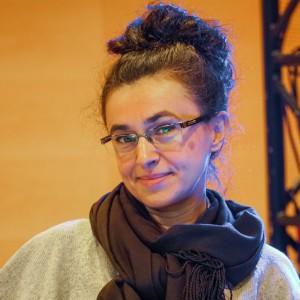 Katarzyna Uszok-Adamczyk. Akademia Dobrze Mieszkaj - Dni Otwarte 4 Design Days 2018. Fot. Grupa PTWP