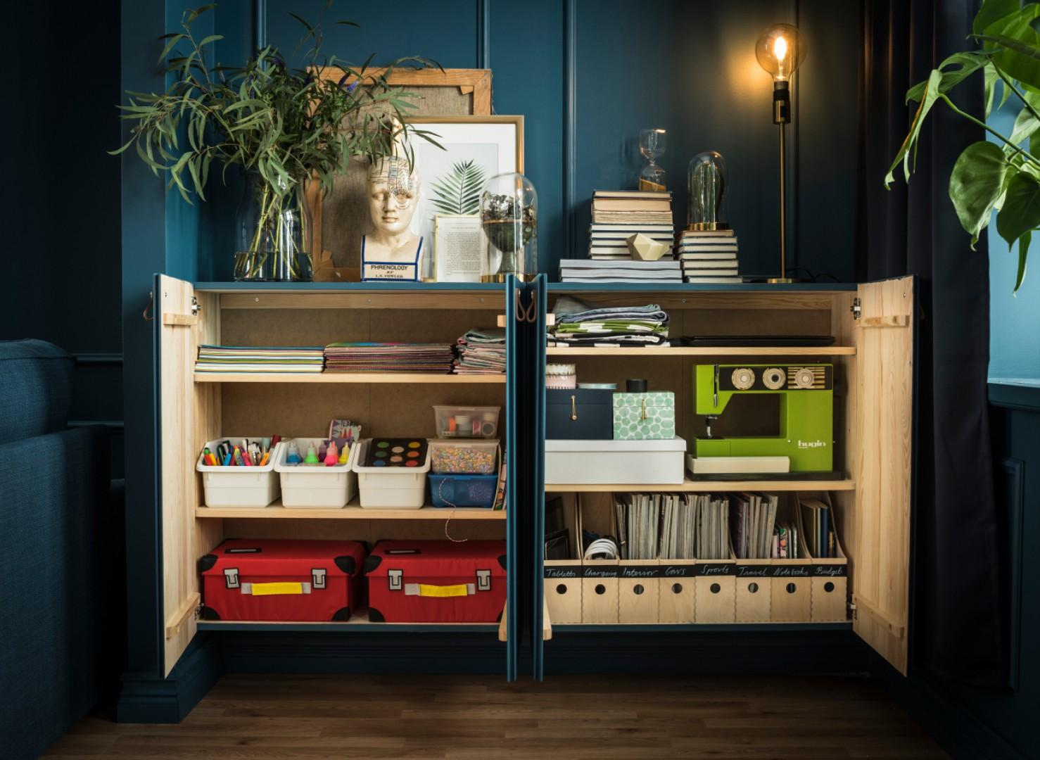 Regał Ivar (IKEA) od 50 lat dostępny jest na rynku. Fot. IKEA