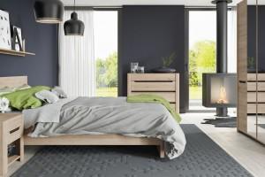 Rustykalny minimalizm w sypialni - zobacz piękne wnętrza