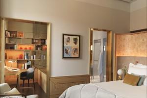 Ekskluzywny hotel został wyposażony w meble w stylu art deco