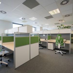 Biuro Deloiite, wyposażone przez Grupę Nowy Styl
