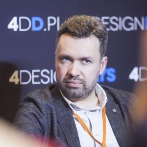 Paweł Pałkus, współpracownik, M+Q, współwłaściciel, PiK Studio. Fot. PTWP