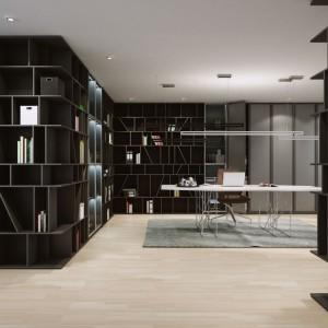 Drzwi przesuwne to optymalny sposób na wykorzystanie każdego cennego centymetra w pomieszczeniach, a dodatkowo – sposób na jeszcze większą indywidualizację mebli i wnętrz. Fot. Komandor