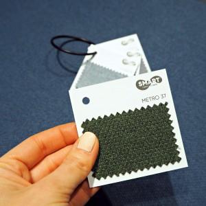Jedną z kluczowych nowości prezentowanych podczas 4 Design Days były tkaniny z linii Smart Fabrics by Davis. Fot. Davis