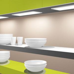 Panele oświetleniowe LED z czujnikiem ruchu to świetna propozycja do kuchni. Fot. Activejet