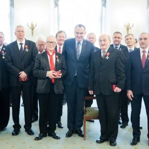 Uroczystość w Pałacu Prezydenckim. Fot. Krzysztof Sitkowski / KPRP