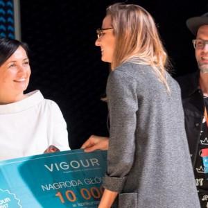 Nagroda główna za projekt wnętrza inwestycyjnego w wysokości 10000 zł zdobyła Justyna Hys z Częstochowy. Fot. PTWP
