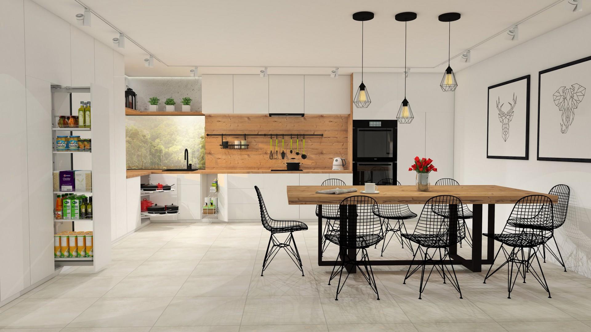 Szafki dolne - sposób na przechowywanie w kuchni