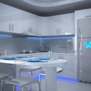 Oświetlenie LED w kuchni.. Fot. GTV
