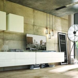 Zestaw Possi Light składa się z wielu elementów, którymi można umeblować różne pomieszczenia. Fot. BRW