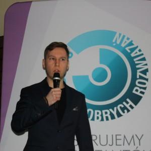 Tomasz Hejankowski, trener, założyciel Social Room -  Studio Dobrych Rozwiązań w Bydgoszczy - 28 lutego 2018 r. Fot. Publikator