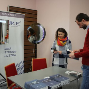 Stoisko firmy Ruke. Studio Dobrych Rozwiązań, 28.02 Bydgoszcz