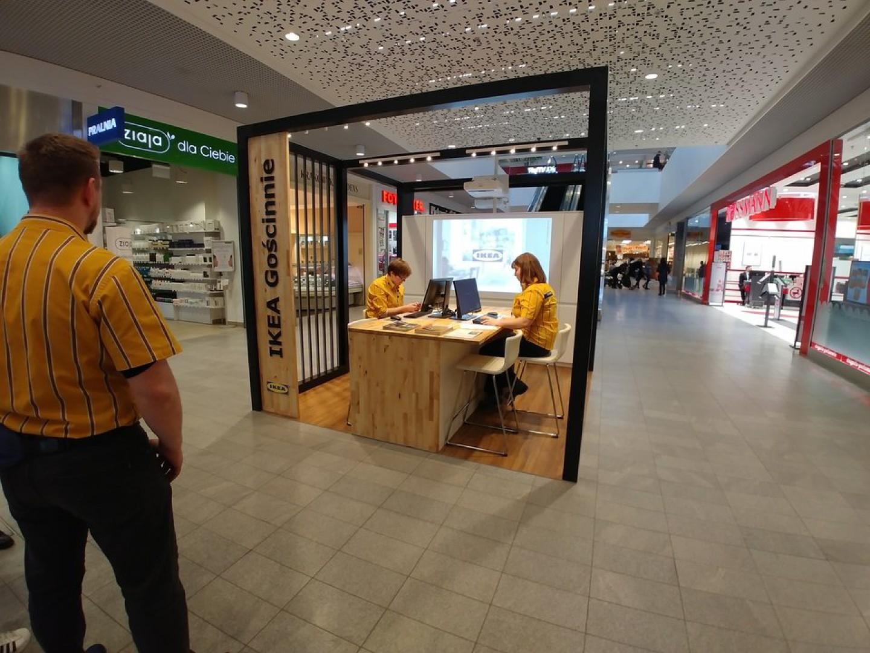 W centrum handlowym Galeria Warmińska powstał nowy punkt spotkań IKEA z klientami. Fot. IKEA