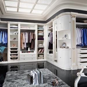 Garderobę możemy urządzić elegancko i stylowo. Fot. Taranko