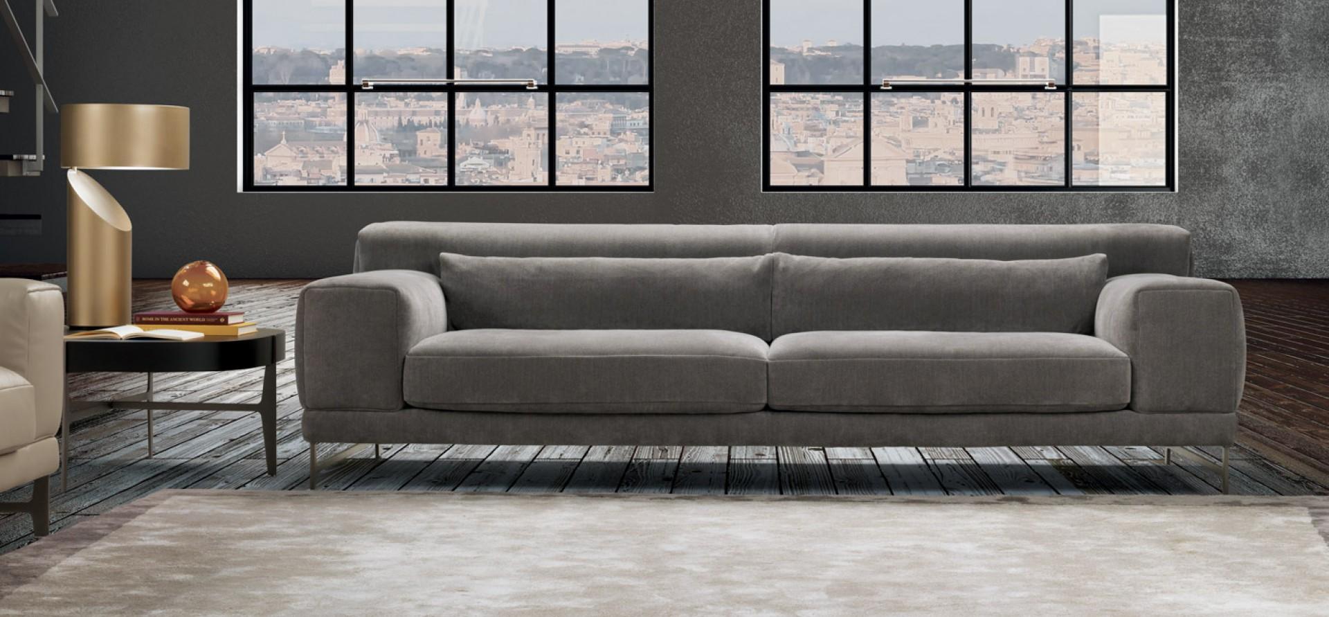 Sofa Ido firmy Natuzzi. Fot. Natuzzi