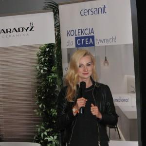 Monika Wiśniewska, przedstawiciel firmy Ceramika Paradyż. Studio Dobrych Rozwiązań w Olsztynie - 14 marca 2018 r. Fot. Publikator