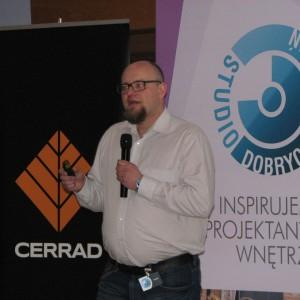 Artur Sieczka, specjalista ds szkoleń, Cerrad. Studio Dobrych Rozwiązań w Olsztynie - 14 marca 2018 r. Fot. Publikator